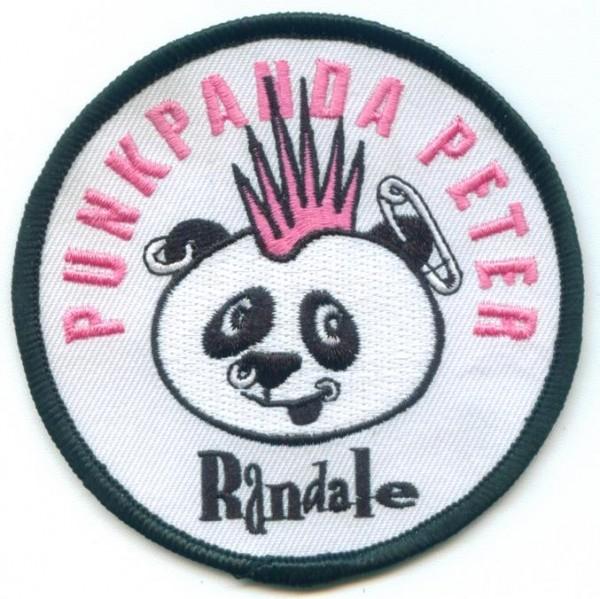 Aufnäher Punkpanda Peter