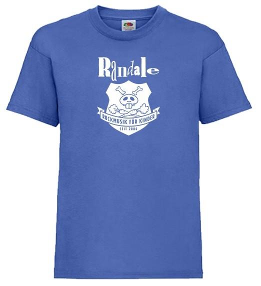 """Randale Mini-Shirt """"Wappen"""" in Größe 92, Supermann Blau"""