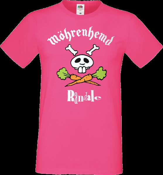 "T-Shirt: Randale - ""Möhrenhemd"" (fuchsia/pink)"