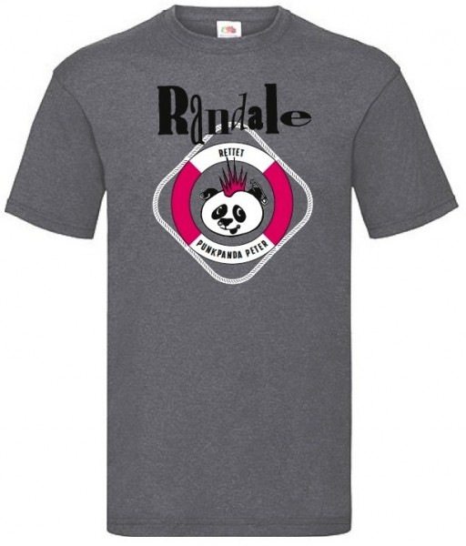 T-Shirt: Randale - Rettet den Punkpanda