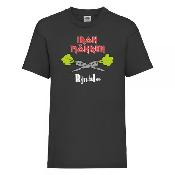 Randale T-Shirt Iron Möhren Schwarz
