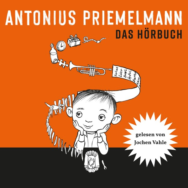 Hörbuch-CD von dem Buch Antonius Priemelmann