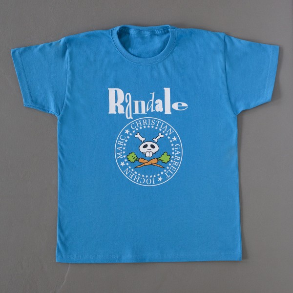"T-Shirt: Randale - ""Randale 2014"" (azurbblau)"