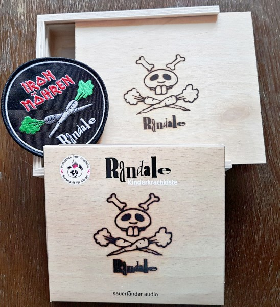 Randale CD - Kinderkrachkiste - in der Holzbox mit weiteren Goodies